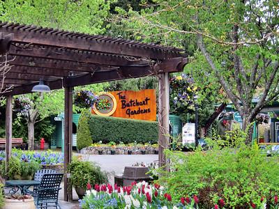 Butchart Gardens on Vancouver Island, BC