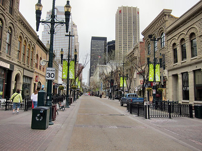 Pedestrian Mall in Calgary