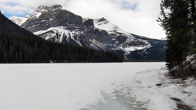 Emerald Lake and Kicking Horse River