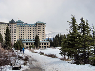 Lake Louise, BC, and Fairmont Chateau Lake Louise