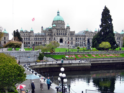 Victoria, BC, on Vancouver Island