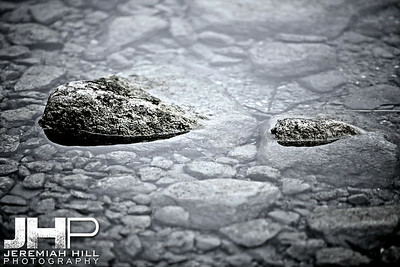 """Two Rocks in Water"", Orillia, ON, Canada, 2012 Print JP12-124-022"