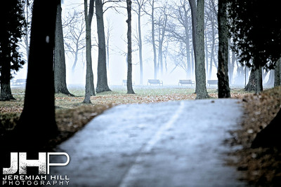 """Where the Path Led"", Orillia, ON, Canada, 2012 Print JP12-124-111"