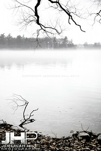"""From Tudhope Park Across The Bay #2"", Orillia, ON, Canada, 2012 Print JP12-124-043"