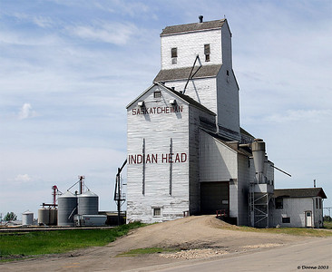 Grain Elevator at Indian Head Saskatchewan