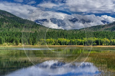 Single Shot Canada Panoramic Landscape Photography Scenic Lake Color Cloud Fog Nature - 018737 - 03-09-2015 - 7952x5304 Pixel