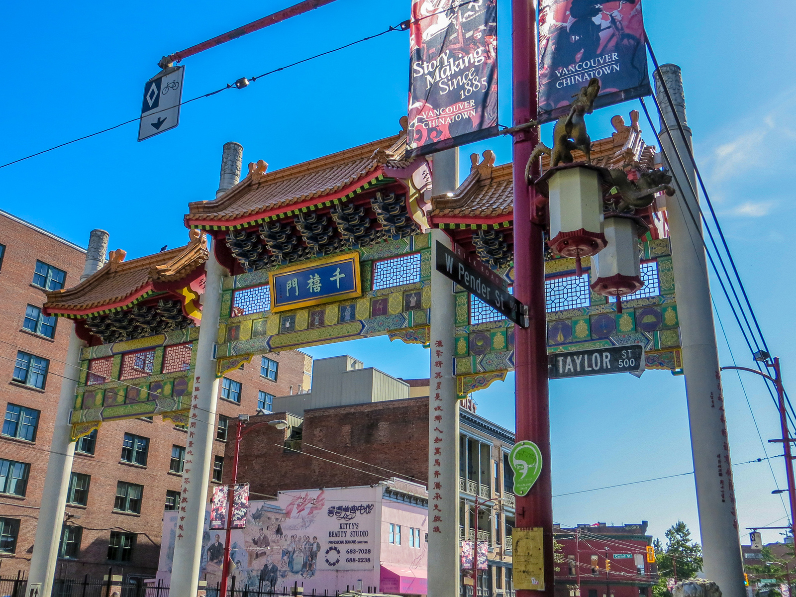 chinatown is a great place for a weekend getaway in vancouver