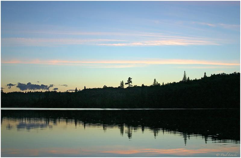 Wasaksina Lake sunset