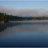 Mists rising on Wasaksina Lake