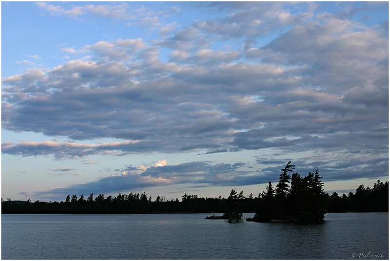 Dawn on Temagami