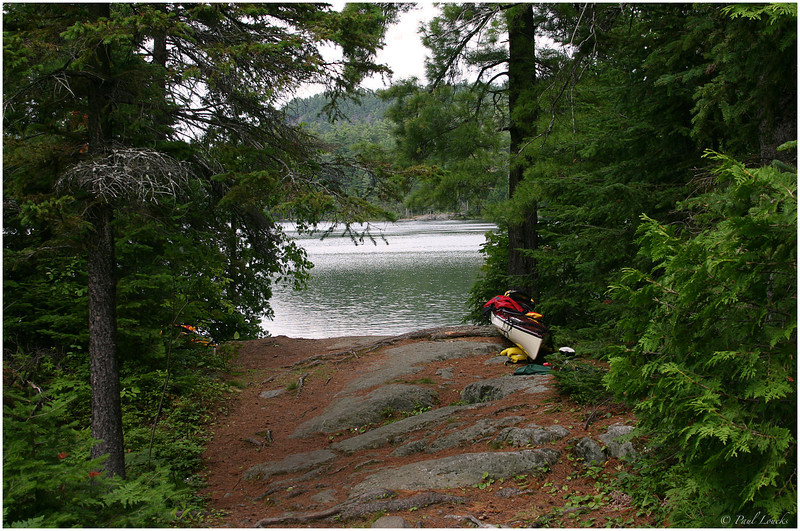 A short portage back into Temagami