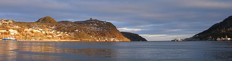 baie de St-John's l'hiver...