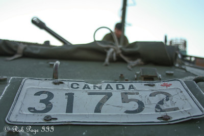 The hard life of a military vehicle - Toronto, ON ... September 1, 2012 ... Photo by Rob Page III