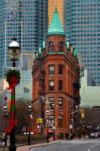 Flatiron Building in Downtown Toronto