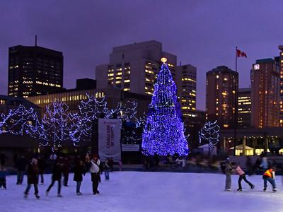 Cavalcade of Lights, Old Toronto City Hall
