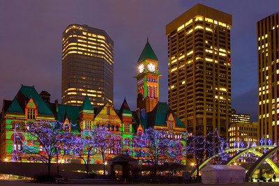 Cavalcade of Lights, Old Toronto City Hall