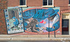 Midland - Girl Guides mural.