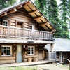 A chalet built by the Canadian Pacific Railway in the early 1900's