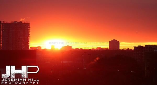 """Parkdale Sunset #2"", Toronto, ON, Canada, 2010 Print JP10-104-034"