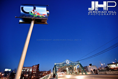"""""""The River I Step In #1"""", Toronto, ON, Canada, 2010 Print JP10-1110-063"""
