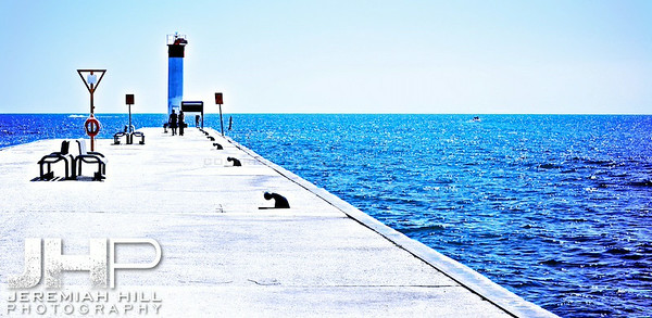 """Whitby Pier #3"", Whitby, ON, Canada, 2013 Print JP13-59-0016V2"