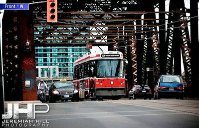 """504 Streetcar at Front St. West"", Toronto, ON, Canada, 2010 Print JP10-927-039"