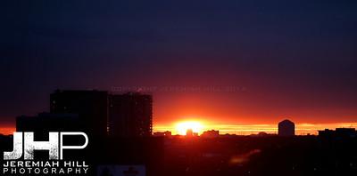 """Parkdale Sunset #1"", Toronto, ON, Canada, 2010 Print JP10-104-031"