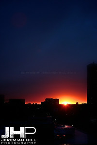 """Parkdale Sunset #3"", Toronto, ON, Canada, 2010 Print JP10-104-046"