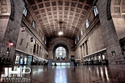 """Union Station #4"", Toronto, ON, Canada, 2010 Print JP10-927-061"