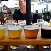 Steveston BC, Britannia Brewing, beer flight