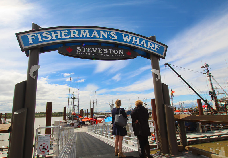 Steveston BC, Fishermans Wharf
