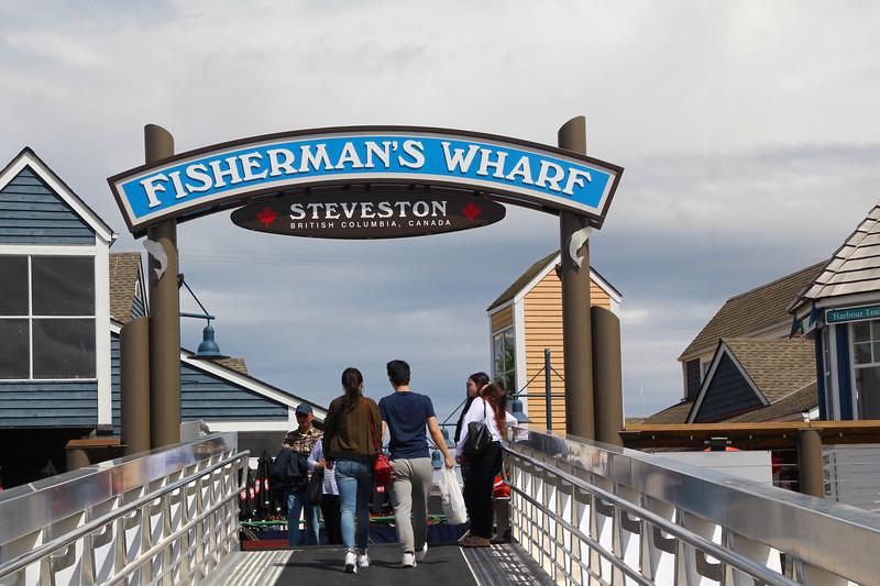 Steveston BC, Fishermans Wharf