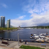 Vancouver BC, waterfront and sea planes