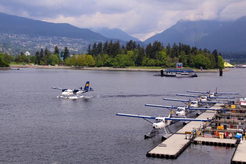 Vancouver BC, Harbor Air sea planes