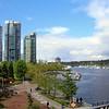 Vancouver BC, waterfront park