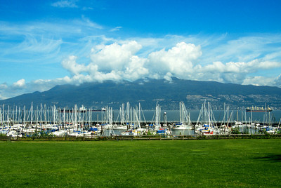 Sailboats in Granville BC