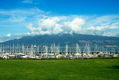 Sailboats in Granville BC