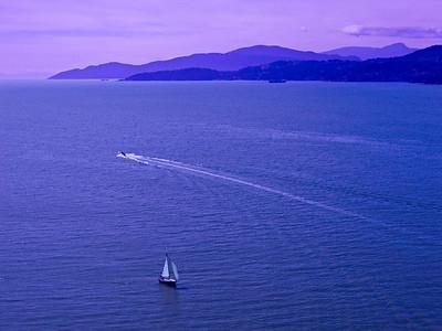 English Bay in Vancouver, British Columbia