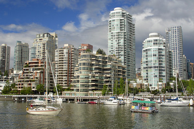 The view from Granville Island - Vancouver, BC ... June 24, 2007 ... Photo by Rob Page III