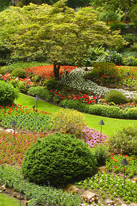 The Sunken Gardens at Butchart Gardens - Brentwood Bay, BC ... June 26, 2007 ... Photo by Rob Page III