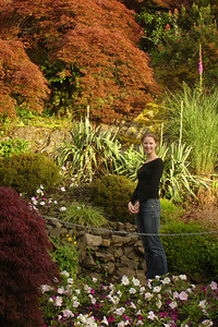 Emily in Queen Elizabeth Park - Vancouver, BC ... June 24, 2007 ... Photo by Rob Page III