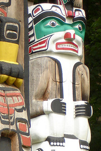 The totem poles of Stanley Park - Vancouver, BC ... June 23, 2007 ... Photo by Rob Page III