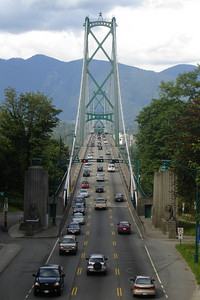 The Lion's Gate Bridge - Vancouver, BC ... June 23, 2007 ... Photo by Rob Page III