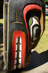 The bottom of a totem pole - Victoria, BC ... June 25, 2007 ... Photo by Rob Page III