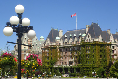 The Empress Hotel - Victoria, BC ... June 25, 2007 ... Photo by Rob Page III