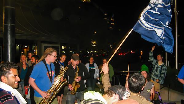Stanley Cup 2011 celebration, Vancouver, Canada