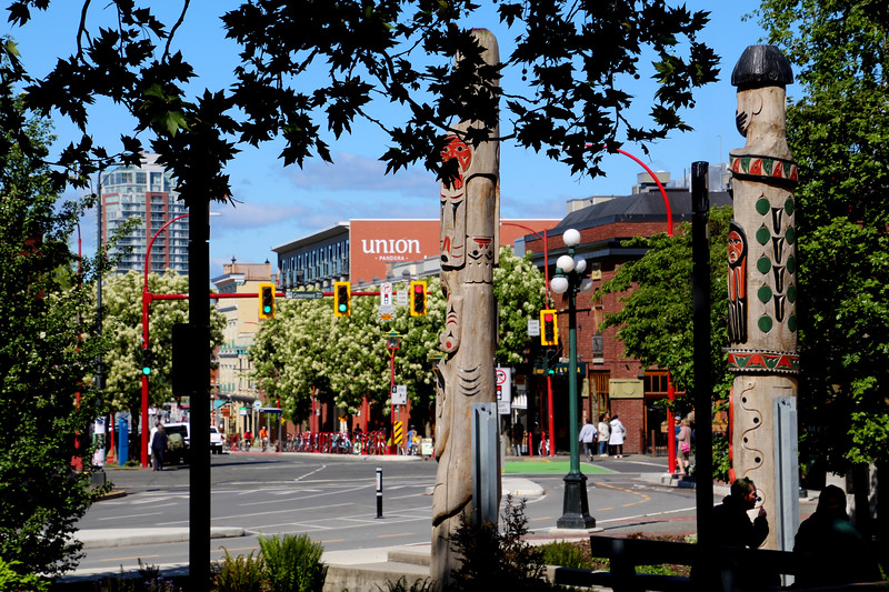 Downtown Victoria, First Nation park