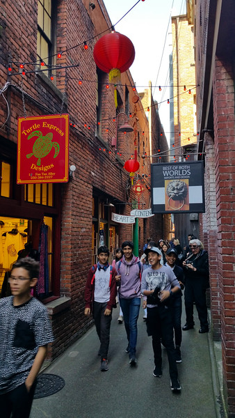 Downtown Victoria, Tan Alley