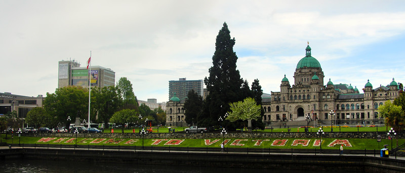Inner Harbour, Welcome to Victoria