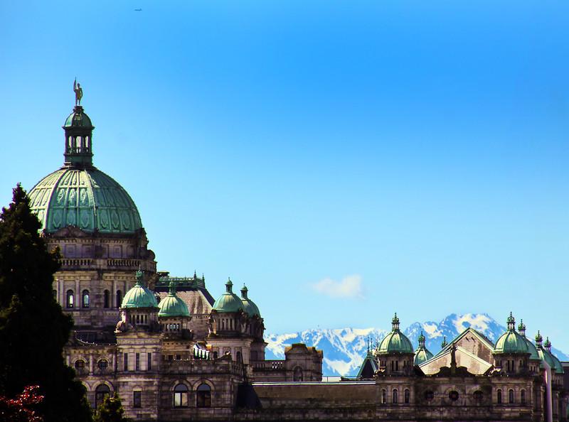 Downtown Victoria, Parliament Building